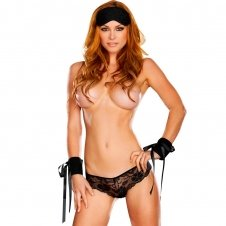 Blindfold , Love Cuffs & Party Set