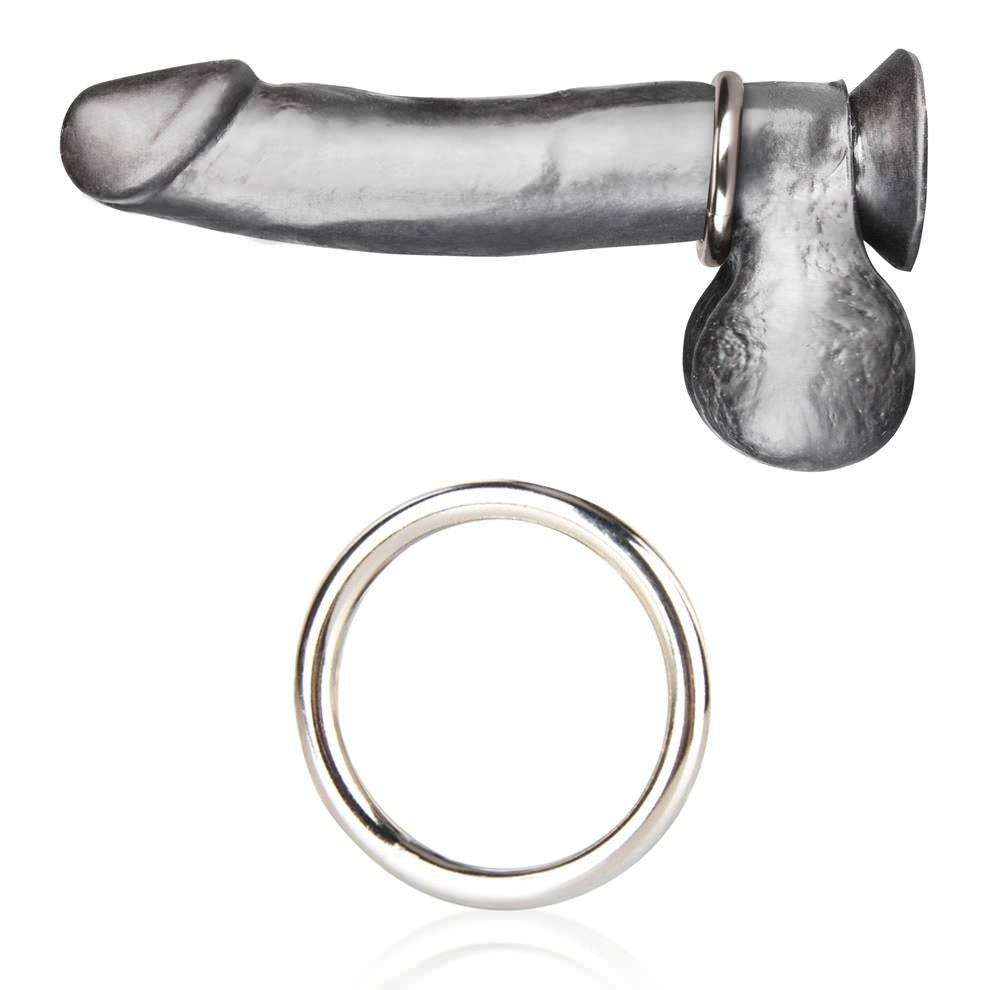 Coming with a cock ring on