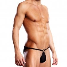 Performance Microfiber Pouch Bikini with Metal Ring
