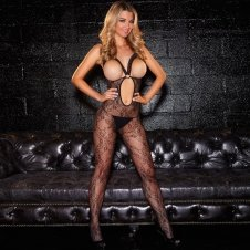 "Crotchless """"Show Me"""" Bodystocking"""