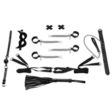 Master-Slave Domination Chain-Me-Up 6PC Bedspreaders Set