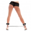 """Expandable Spreader Bar Set 35"""" - 47"""" With Detachable Leatherette Cuffs"""