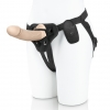 """6.5"""" Realistic Silicone Dildo With Harness Included"""