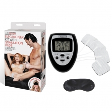 Electro-Sex Kit With Stimulation Pads
