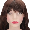 Remote Controlled Life-Size Brunette Blow Up Doll
