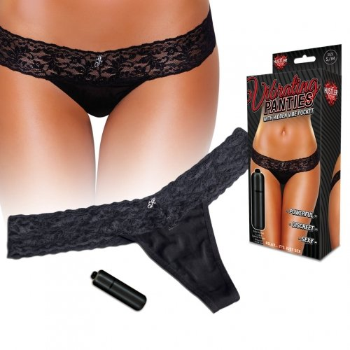 Vibrating Lace Thong